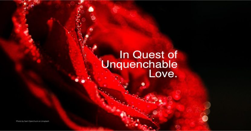 In Quest of Unquenchable Love.